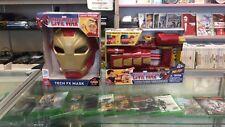 Marvel Captain America: Civil War Iron Man Tech FX Mask and Blast Slide - NEW
