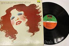 "Bette Midlet The Divine Miss M LP 12"" (G)"