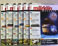 Catalogue Marklin Magazine 2007 Telex Insider News Katalog Club Français FR