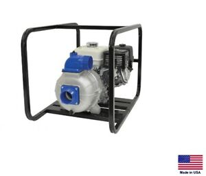 "FIRE PUMP / Irrigation - 3"" Ports - 90º Rot Discharge - 8 Hp Diesel - 11,100 GPH"