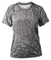 Badger Women's Moisture Wicking Short Sleeve Polyester Self Fabric T-Shirt. 4196