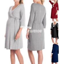 Pregnant Women Nightdress Maternity Sleepwear Nightgown Breastfeeding Pajamas