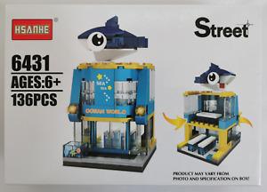 Mini Street View Building Block Toy Ocean World - 136pcs
