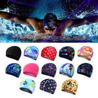 NEW Nylon Swimming Cap Long Hair Large for Adult Men Ladies Hat US STOCK