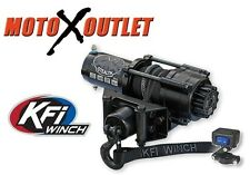 KFI Stealth 2500 lbs Winch Kit Black Out Model Atv Utv Synthetic Rope