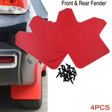 4PCS/SET Car Front & Rear Fender Mud Flap Mudguard Splash Guard PP+TPO Durable