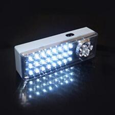 BLOC LAMPE PLAFONNIER APPLIQUE ECLAIRAGE SECOURS 26+4 LEDs ALLUMAGE  AUTOMATIQUE