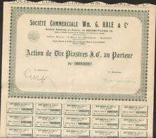 Société Commerciale Wm. G. HALE & Cie (INDOCHINE) (U)