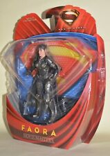 """Dc Comics Superman Man of Steel Faora Action Figure Movie Masters 6"""" New Sealed"""