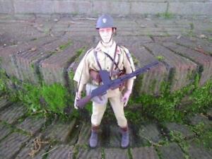 1/6 WWII Vichy French Rifleman in German Service w/ FM 24/29 LMG Kitbash