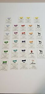 Beagle-opoly Board Game Replacement Pieces: Set of 28 Deed Property Cards