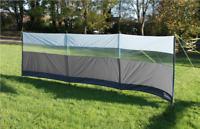 Leisurewize Outdoor Camping Caravan Sun & Wind Break Shelter Screen -500 x 140cm