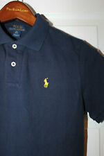 Boys age 10-12 RALPH LAUREN polo t shirt. Navy. Size M
