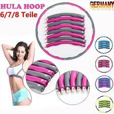 8 Teile Hula Hoop Reifen Fitness Schaumstoff Bauchtrainer Fitnesstraining 1 KG
