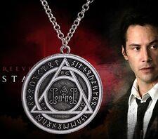 Constantine Demon Seal Texture Necklace