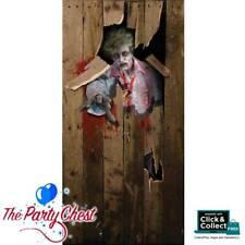 6FT ZOMBIE DOOR COVER Halloween Party Door Cover Poster Decoration Prop HI250