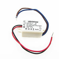 6W Wattage LED Driver Transformer 12V DC 500mA  Driver Constant Current