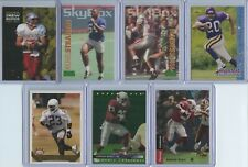 1993 7 Rookie Card Lot Inc. Drew Bledsoe, Michael Strahan, Robert Smith (x2)