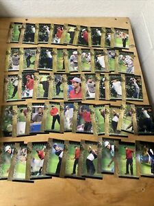46 Card Lot 2001 Upper Deck GOLF Tiger Woods Tiger Tales Mint
