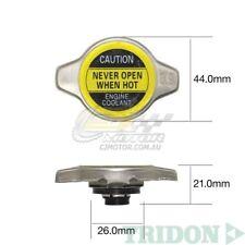 TRIDON RADIATOR CAP FOR Toyota Carib AE115 NZ only 01/95-01/00 4 1.8L 7AFE 16V