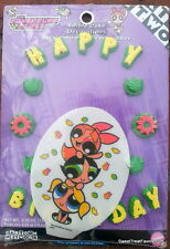 Powerpuff Girls Cake Decoration Topper Kit Cupcake Birthday Party Layon Sugar NW