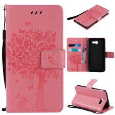 Flip Folio Wallet Leather Case Cover For Samsung Galaxy J3 2017 / J3 Emerge J327