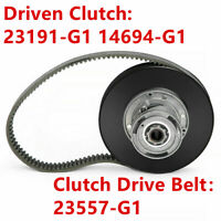 Secondary Driven Clutch Belt Set for EZGO Golf Cart Gas 2 Cycle 1988 23557-G1