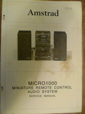 Amstrad  Micro 1000   Stereo System   Service Manual