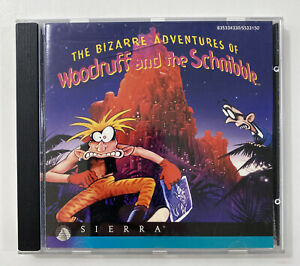 Bizarre Adventures of Woodruff and the Schnibble - Sierra Games 1994 *Very Good*
