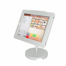 iPad Tablet Stand POS Anti-theft Stand Enclosure w/Security Lock Kiosk Desktop