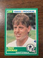 1989 Score Troy Aikman Rookie #270 Dallas Cowboys RC | Gradable