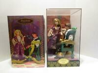 NRPB Disney Store Designer LE Fairytale Collection RAPUNZEL & FLYNN Doll Set