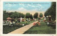 Postcard Bohemian National Cemetery Cedar Rapids Iowa