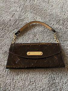 Louis Vuitton Vernis Leather Amarante Clutch Bag