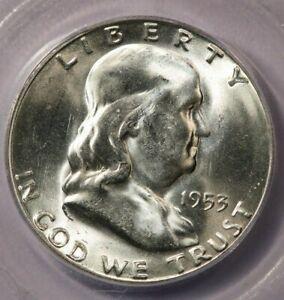 1953-S 1953 Franklin Half Dollar ICG MS65