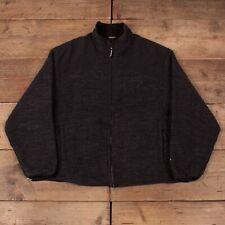 "Mens Vintage Woolrich Grey Techno Wool Harrington Jacket USA XL 46"" R15925"