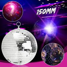 "Genuine SoundLAB Lightweight Silver Mirror Dance Disco Party DJ Ball 150mm( 6"")"