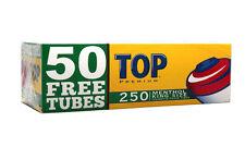 40 (Forty) Boxes TOP Green/Menthol King Size Cigarette Tubes 250ct box RYO/MYO