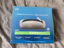 Cisco Linksys Wireless-N ADSL2+  Modem Router - WAG160N