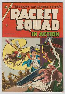 M0468: Racket Squad #11, Vol 1, F/VF Condition