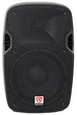 """Rockville SPGN128 12"""" Passive 1200W DJ PA Speaker ABS Lightweight Cabinet 8 Ohm"""