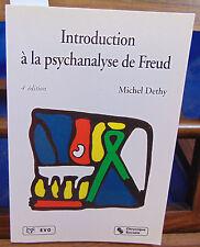 Dethy Introduction à la psychanalyse de Freud, 4e édition...