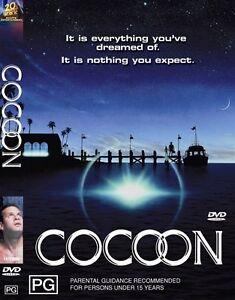 COCOON DVD - 1985 Sci Fi REGION 4 AUST
