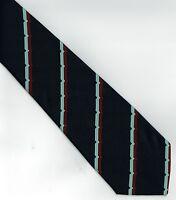 Regimental Tie Polyester Jacquard  RAF VR