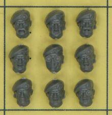 Warhammer 40K Astra Militarum Tempestus Scions Heads