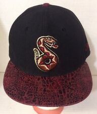 Very Rare Vintg Tucson SIDEWINDERS Embroidered New Era 59fifty 7 3/8 Fitted Hat