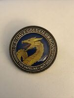 US NAVY GOLDEN DRAGON PIN