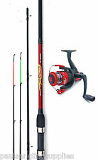 Shakespeare Firebird   Quiver /  Feeder / Ledger Fishing Rod ,Reel & Line