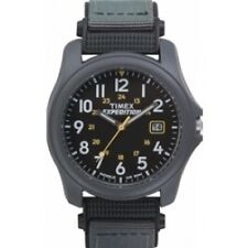 Mens Expedition Camper Grey Strap Indiglo Timex T42571 Analogue Wrist Watch