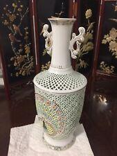 Chinese Egg Shell Porcelain Vase.